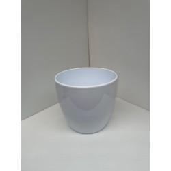 Cache-pot blanc D25cm
