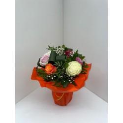 Bouquet de roses mixtes...
