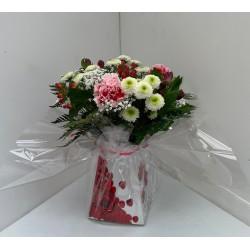Bouquet du fleuriste boite