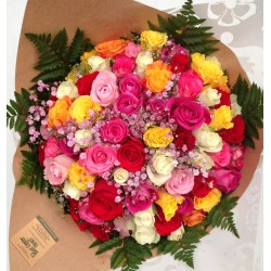 Bouquet de roses XXL
